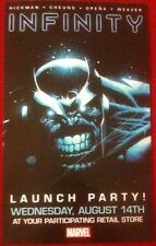 Infinity (2013) Launch Party Promo Card - Thanos & Marvel Comics