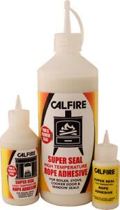 Super Seal Fire Rope Adhesive 30ml - 100ml - 500ml High temperature glue Calfire