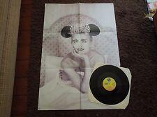 "Madonna Dear Jessie RARE 12"" Poster Sleeve"