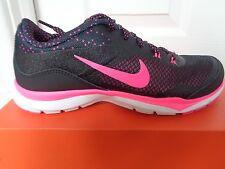 Nike Flex Trainer 5 stampa Wmns Scarpe Da Ginnastica 749184 018 UK 4 EU 37.5 US 6.5 Nuovo + Scatola