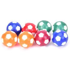 8pcs Mini Colorful Table Soccer Footballs Replacement Balls Tabletop Game B EB