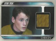"Star Trek Movie 2009 - CC5 Anton Yelchin ""Chekov"" Costume Card"