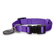 Good2Go Adjustable Purple Nylon Dog Collar Heavy duty stitching Size Medium
