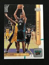 PAU GASOL ROOKIE RC UPPER DECK 2002 BASKETBALL CARD