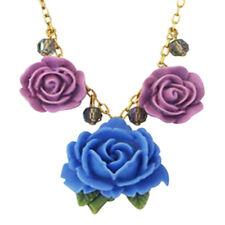 "Tarina Tarantino Parade ""Pasadena"" Necklace Blue & Purple *Made in California*"