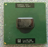 Intel Pentium M CPU Processor 1.60GHz 2MB 400MHz 1.34V Socket 478 SL89T