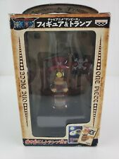 Banpresto figure One Piece Kuji Chopper Figure and Trump 2004 NEW RARE