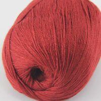 1ball x 50g Super Fine Pure soft warm 100% Cashmere Hand Knitting Yarn Sale