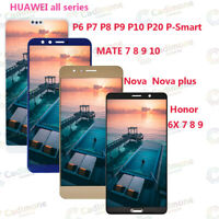 For HUAWEI P/MATE/HONOR/NOVA/Lite 7 8 9 10 20 Touch Screen LCD Display Lot RHN
