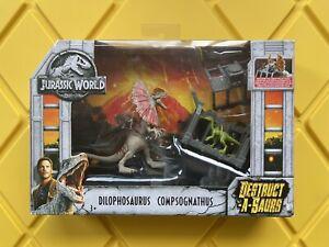 Jurassic World Destruct-a-saurs Dilphosaurus with Compsognathus