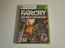 FAR CRY THE WILD EXPEDITION XBOX 360 UK PAL INCLUDES FARCRY 1 2 3 NEW SEALED