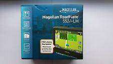 "Magellan RoadMate 5520-Lm 5"" Portable Gps Set Us/Can/Pr Maps Navigation"