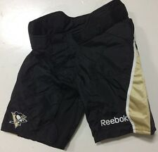 Reebok 9K Pro Stock Hockey Shell Black Penguins Senior Medium M 7342