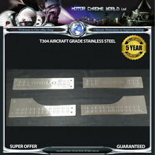 FITS TO FIAT DOBLO CHROME INNER DOOR SILL COVERS 10 YR GUARANTEE 2010-2014 OFFER