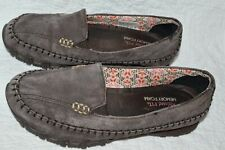 Sketchers Women's Relaxed Fit Memory Foam 48930 Brown Suede Loafer Size 6.5