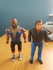 New listingOriginal vintage A-Team Action Figures Mr T Ba Baracus & Face 1983 Cannell