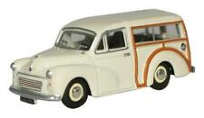 Oxford Diecast OO Morris Minor Traveller Old English White 1/76 OD76MMT001