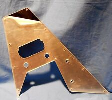 NEW USA CUSTOM SHOP CHROME MIRROR PICKGUARD FOR WASHBURN PAUL STANLEY  V GUITAR