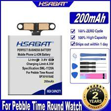 Time Round Watch Bateria Li-Polymer Hsabat Sp301618Ae 200mAh Battery for Pebble