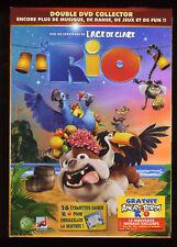 RIO   Edition Collector  2 DVD ZONE 2 + 16 ETIQUETTES AUTOCOLLANTES