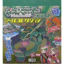 Pokemon Pocket Monsters Emerald Hen sticker collection book