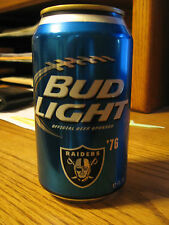 1976 (discontinued) OAKLAND RAIDERS SUPER BOWL CAN (BOTTOM OPENED)