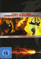 MISSION: IMPOSSIBLE 1-3 TRILOGY (Tom Cruise) 3 DVDs NEU+OVP