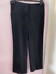 Ladies Next Petite UK 8 P Navy Blue Trousers