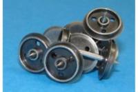 Dapol WHEELSDISC OO Gauge Metal Disc Wagon Wheels (Pack 20)