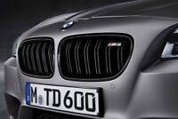 orig. BMW M Performance 5er F10 M5 Frontziergitter Ziergitter schwarz Re + Li