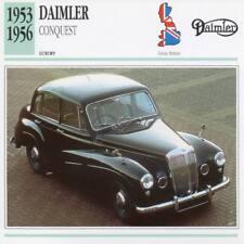 1953-1956 DAIMLER CONQUEST Classic Car Photograph / Information Maxi Card