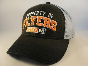 Philadelphia Flyers NHL Trucker Snapback Hat Cap CCM