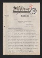 BERLIN, Brief 1935, Wiwo Wirk-Wollwaren und Bekleidungs AG