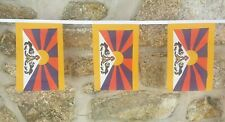 Tibet Flag Polyester Bunting - Various Lengths