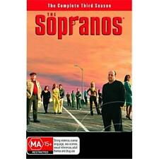 The Sopranos : Season 3 (DVD, 2002, 4-Disc Set) NEW