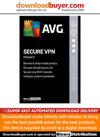 AVG Secure VPN 2021 - 1 Device - 1 Year [Download]