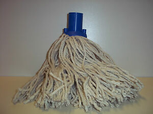 LARGE MOPS HEADS COLOUR CODED X 2 MOPS
