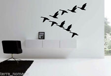 Large Birds & Birdhouses Wall Stickers