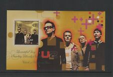 2002 U2  MINIATURE SHEET IRISH POST OFFICE OFFICIAL PERFECT CONDITION  SCARCE CC