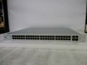Ubiquiti UniFi Switch 48 Port US-48-750W Managed PoE+ Gigabit Switch (B264)