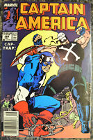 CAPTAIN AMERICA #364B (Dec 1989, Marvel) Crossbones (Newsstand) - HIGH GRADE