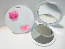 Hello Kitty Dark Pink Head and Love Compact Mirror makeup