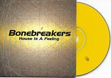 BONEBREAKERS - House is a feeling CD SINGLE 2TR House 1999 (ARS) Belgium