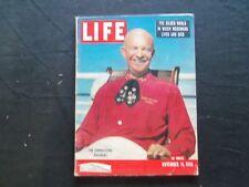 1955 NOVEMBER 14 LIFE MAGAZINE - DWIGHT D. EISENHOWER - L 981