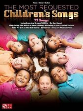 The Most Requested Children's Songs PVG Book *NEW* Sheet Music Piano Guitar