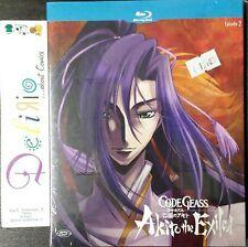 BLU RAY - CODE GEASS: AKITO THE EXILED EPISODIO 2  Ed. DYNIT SCONTO 10%