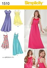 Simplicity Us1510aa Size AA Girls Plus Special Occasion Dress
