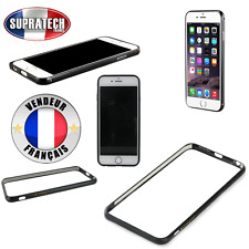 Protection Contour Bumper en Aluminium Coloris Noir pour Apple iPhone 6 6S 4.7""