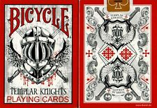BICYCLE TEMPLAR KNIGHTS AIR CUSHION PLAYING CARDS ~ USPCC 2011 ~ NEW SEALED DECK