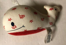 RARE Tommy Hilfiger Plush Stuffed WHALE Animal